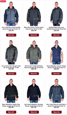 5866db1cce2 Denim Hooded jackets  Quilted jackets  Waterproof coats ...