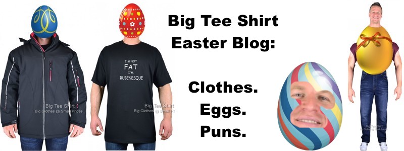 Egg-citing Easter Clothing For Big Dudes