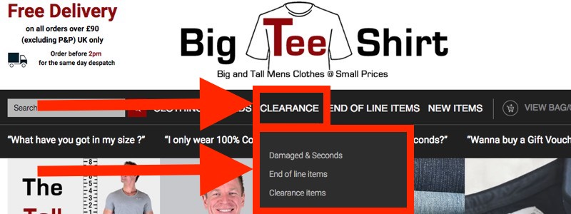 Big Blokes: Bag A Bargain!