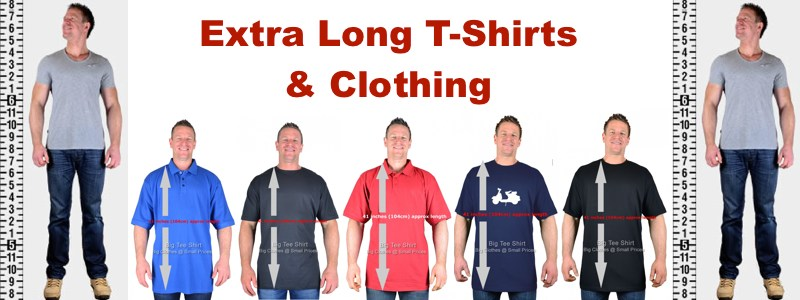 Extra Long T-Shirts For Big Men