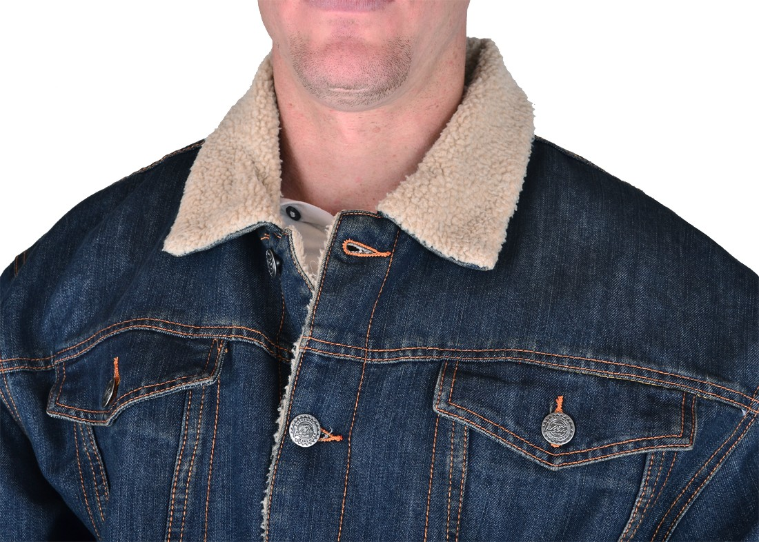 Mens Sherpa Jacket