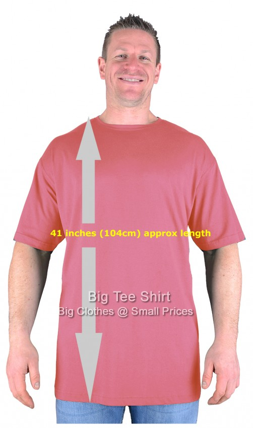 00749483 Berry Extra Tall T Shirt/Nightshirt L XL 2XL 3XL 4XL 5XL 6XL 7XL 8XL