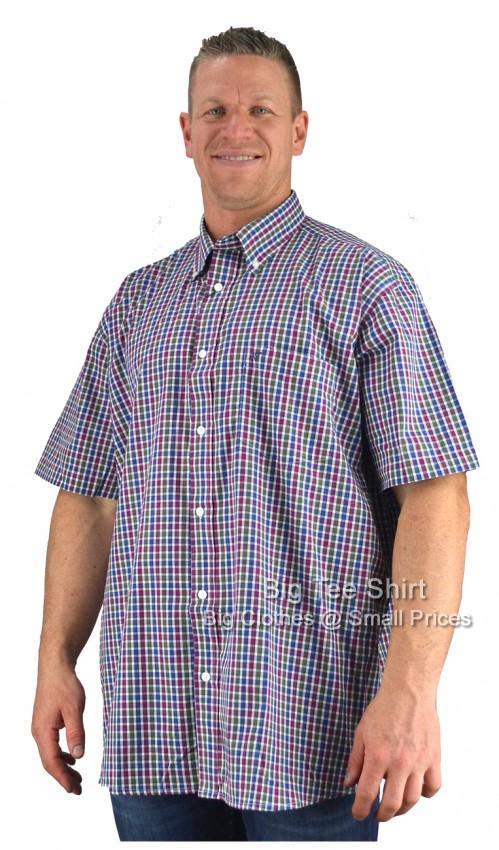 9432410c Plum Cotton Valley Fear S/S Shirt 2XL 3XL 4XL 5XL 6XL 7XL 8XL