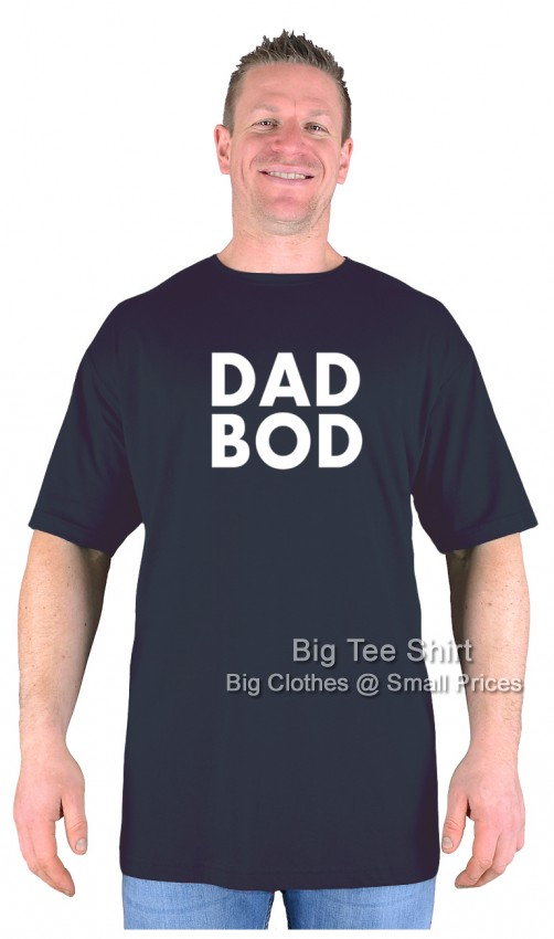 Black BTS Dad Bod T-Shirt