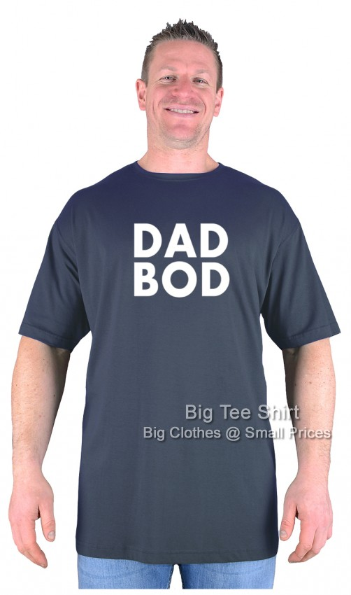 Charcoal BTS Dad Bod T-Shirt