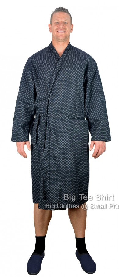 Black Kings Club Adam Lightweight Dressing Gown  - Damaged or Seconds