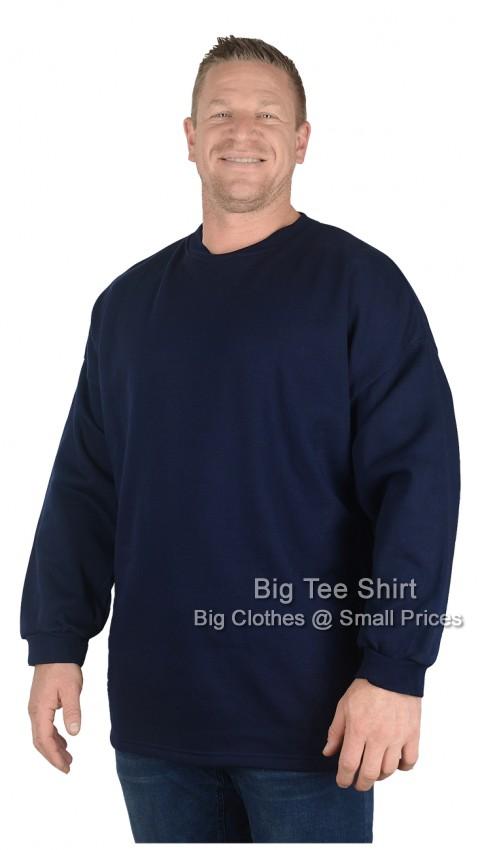 Navy BTS Crew Neck Sweatshirt XL 2xl 3xl 4xl 5xl 6xl 7xl 8xl