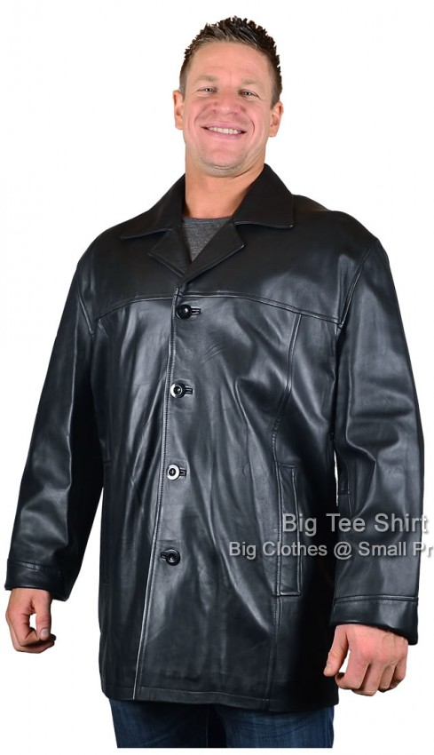 Woodland Leather  Leather Oscar Casual Jacket (KS-632) 2xl to 7xl - EOL