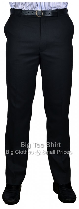 Black Durapress 31 Inch IL Trousers 42 44 46 48 50 52 54 56 58 60 62