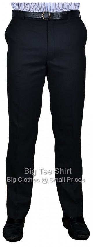 Black Durapress 31 Inch IL Trousers 42 44 46 48 50 52 54 56 58 60 62