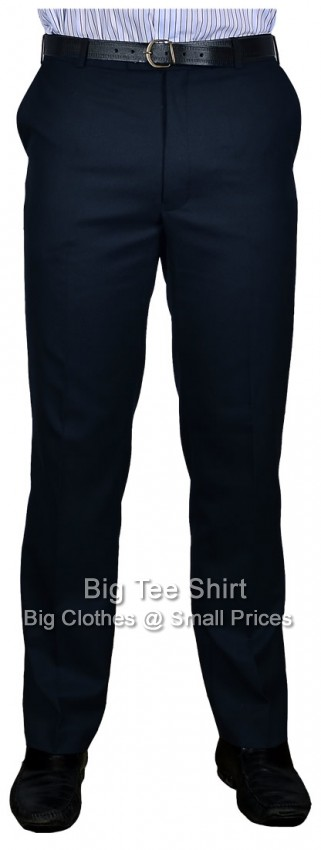 Navy Durapress 31 Inch IL Trousers 42 44 46 48 50 52 54 56 58 60 62
