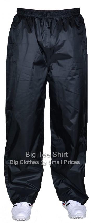 8793ab7c1b Black Espionage Lanety Waterproof Trousers 2xl 3xl 4xl