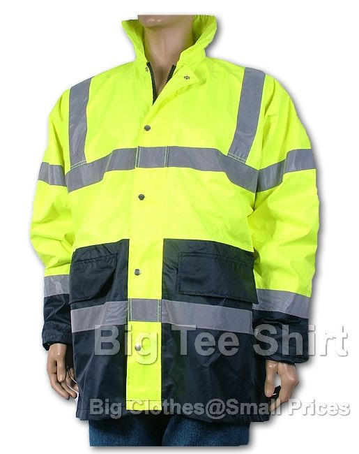 Yellow Owen Hi Viz Jacket - Damaged or Seconds