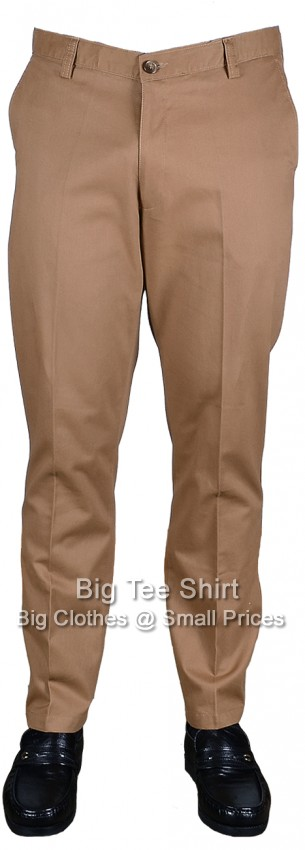 "Tobacco Woodbrie Harper 31"" IL Chinos 42 44 46 48 50 52 54 56 58 60 62"