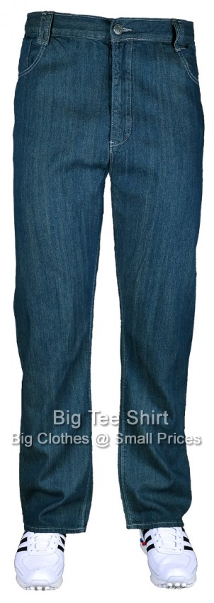 Mid Blue Kam Stark 30 inch IL Jeans (KBS-STARK) Size 42 to 60 (S)