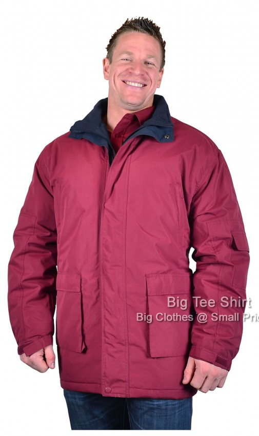 Red Carabou Kendal Outdoor Coat Jacket 2xl 3xl  - EOL