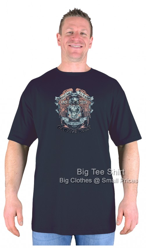 Black BTS American Classic T-Shirt Sizes 2XL 3XL 4XL 5XL 6XL 7XL 8XL