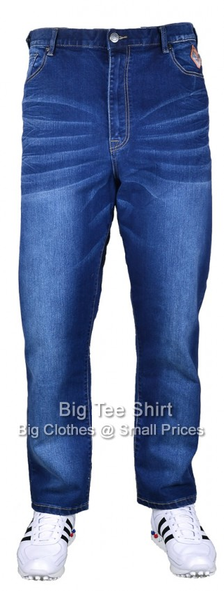 Blue Used Kam Rider 31 inch IL Stretch Jeans (KBSRIDER) Size 42 to 60