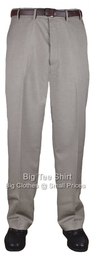 Taupe Kam Louth 33 inch IL Flexi Trouser 42 44 46 48 50 52 54 56 58 60