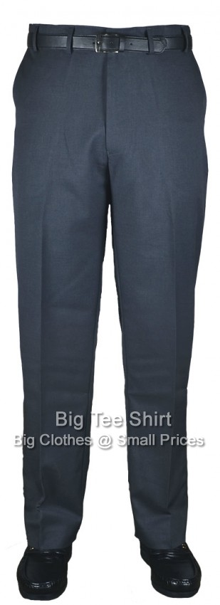 Charcoal Kam Louth 31 inch IL Flexi Trouser 44 46 48 50 52 54 56 58 60