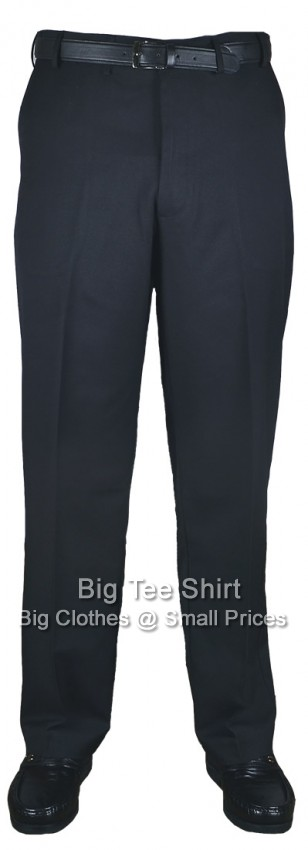 Black Kam Louth 31 inch IL Flexi Trousers 44 46 48 50 52 54 56 58 60