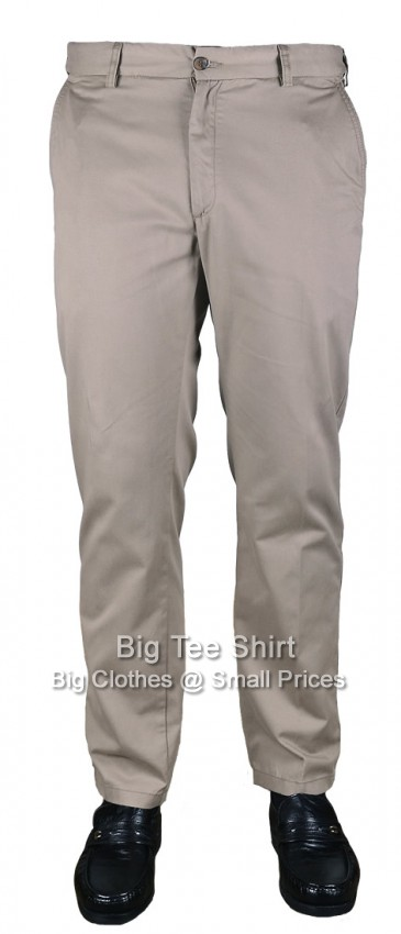 Mocca Carabou Platinum 32 Inch IL Flexi Waist Chinos Size 44 to 56 (R) - EOL