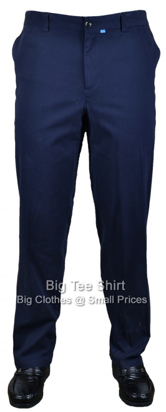 Navy D555 Bruno 32 inch IL Chinos 42 44 46 48 50 52 54 56 58 60