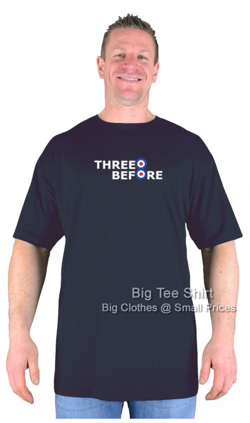 Black Three Before Eight Brad T-Shirt 2xl 3xl 4xl 5xl 6xl 7xl 8xl