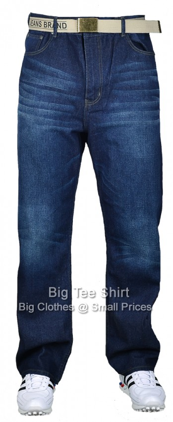 "Blue Tint Kam Forge George 32 "" IL Jeans 42 44 46 48 50 52 54 56 58 60"