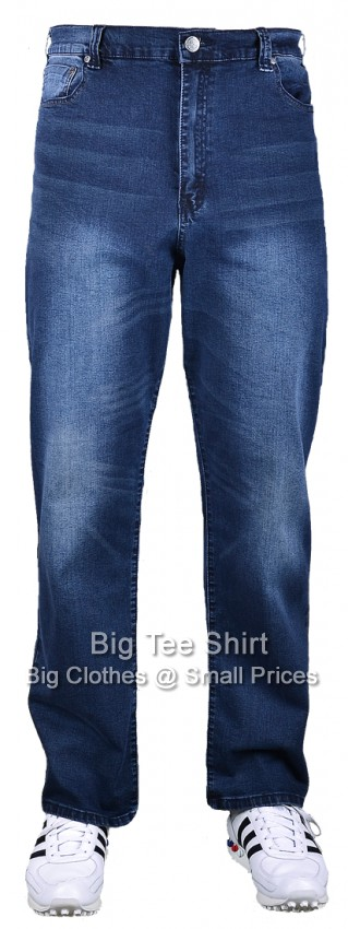 "Dark  Kam Aron 30"" IL Stretch Jeans 44 46 48 40 52 54 56 58 60 62 64"