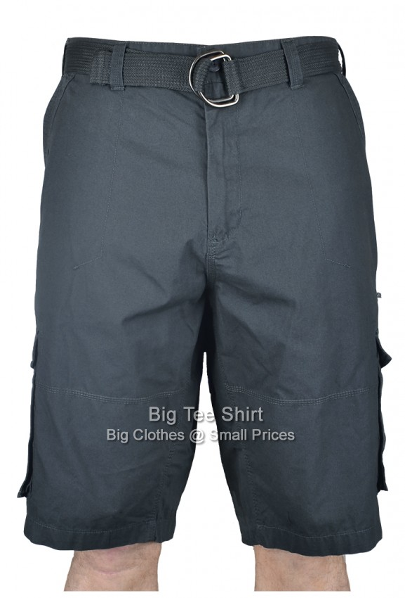 Charcoal Kam Willet Cargo Shorts 42 44 46 48 50 52 54 56 58 60