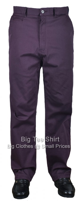 Grape Espionage Maccan 33 IL Stretch Chinos  46 48 50 52 54 56 58 60