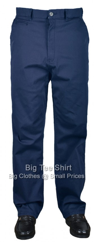 Blue Espionage Maccan 33 IL Stretch Chinos  46 48 50 52 54 56 58 60