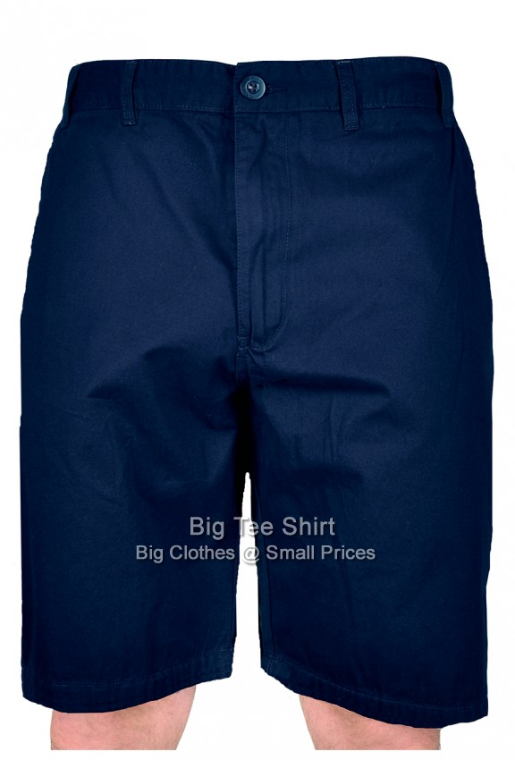 Navy Kam Pentan Brushed Cotton Shorts 42 44 46 48 50 52 54 56 58 60