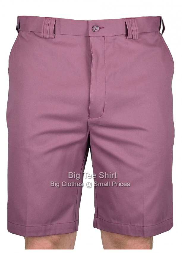 Soft Mulberry Carabou Platinium Active Waist Shorts 44 46 48 50 52 54
