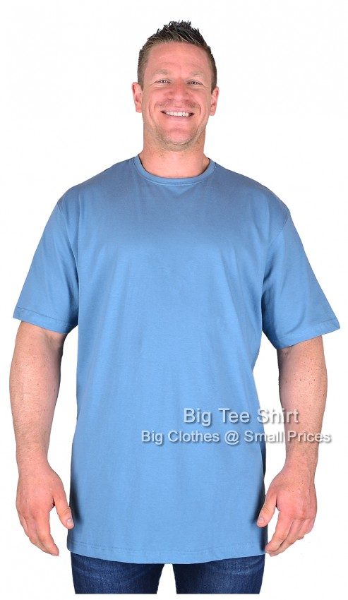 Soft Blue BTS BIG LAD T-Shirt  Size 10XL