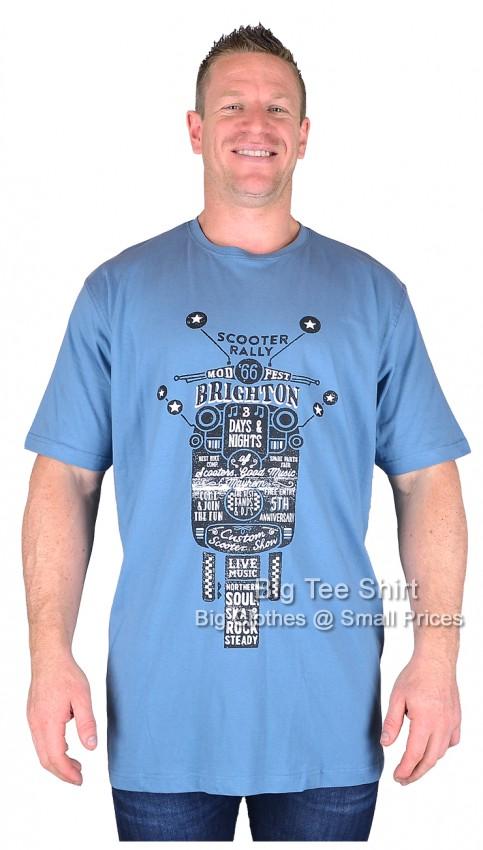 Brighton rally blue espionage t shirt 2xl to 8xl for Brighton t shirt printing