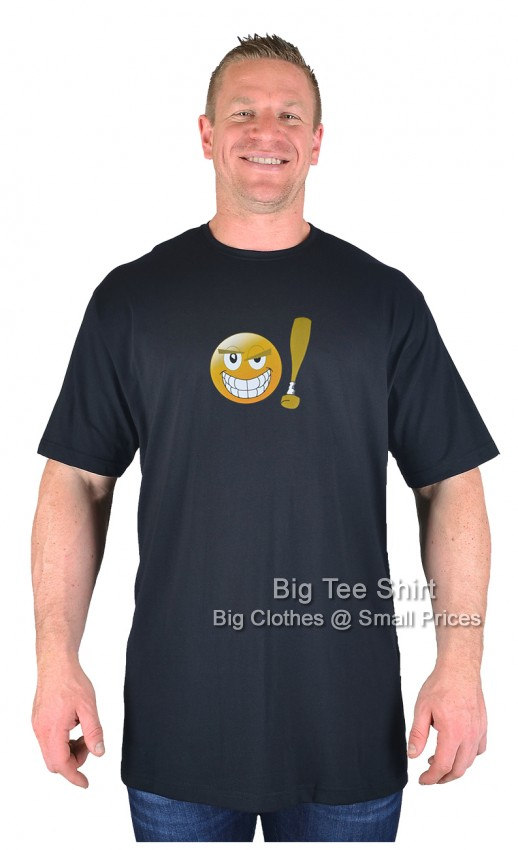 Black BTS Nasty Smiley T-Shirt 2xl 3xl 4xl 5xl 6xl 7xl 8xl