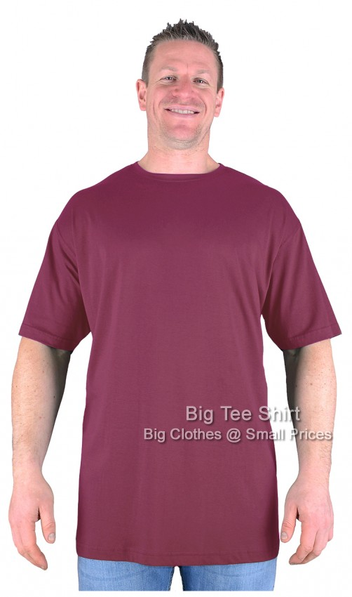 Wine Red BTS BIG LAD T-Shirt Size 10XL
