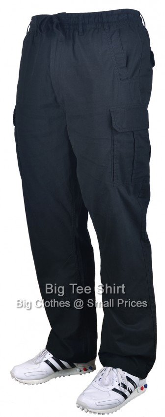 "Black Kam Crow 30 "" IL Cargo Pants sizes 42 to 60"