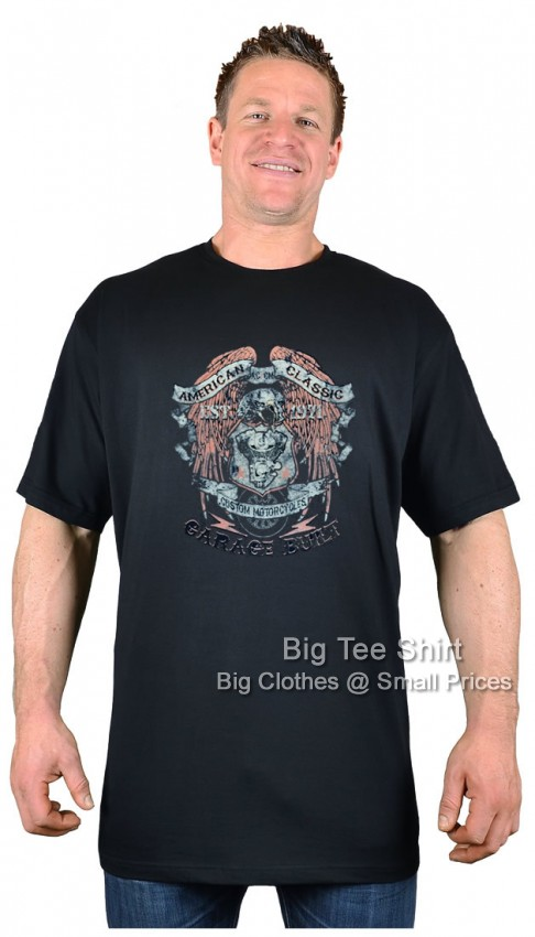 Black BTS American Classic T-Shirt  - Damaged or Seconds
