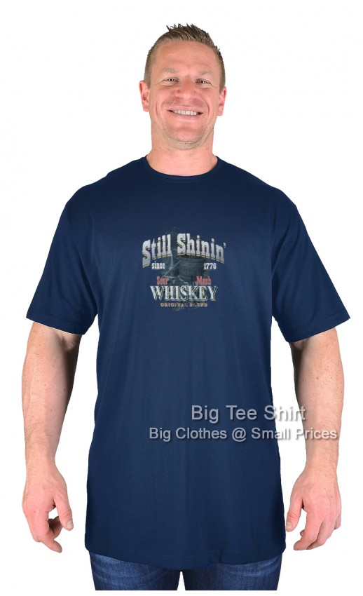 Navy BTS Sour Mash T-Shirt  - Damaged or Seconds