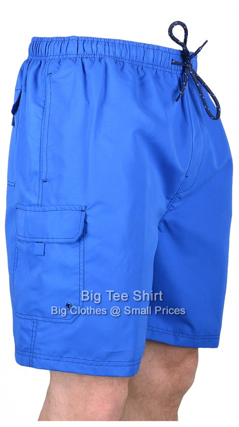 Royal Blue Espionage Sunny Swim Shorts 2xl 3xl 4xl 5xl 6xl 7xl 8xl  - EOL