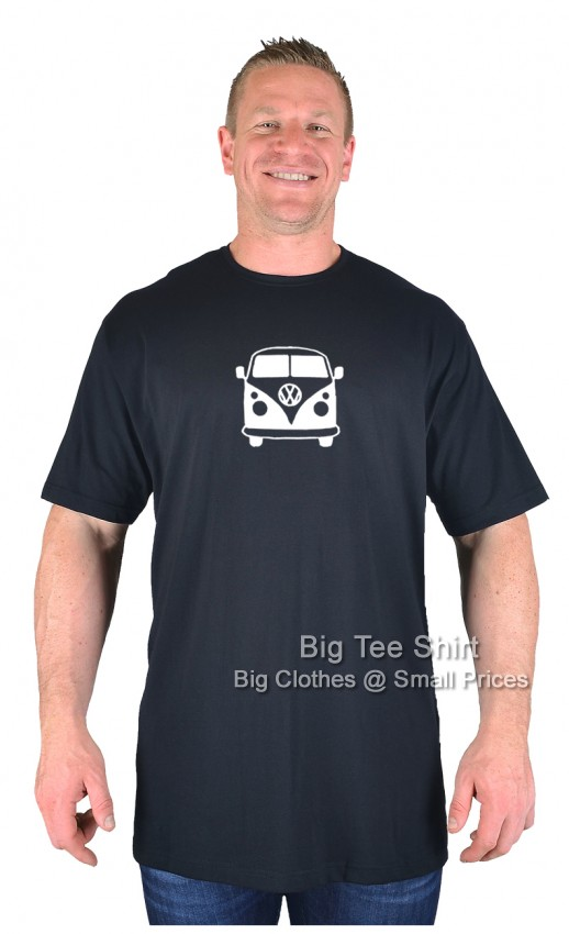 Black BTS Campervan EXTRA TALL T-Shirt Sizes 2XLT to 8XLT