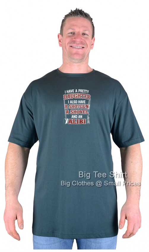 Green BTS Alibi T-Shirt Sizes 2XL 3XL 4XL 5XL 6XL 7XL 8XL