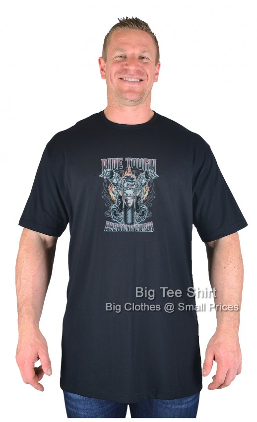 Black BTS Ride County T-Shirt  - Damaged or Seconds