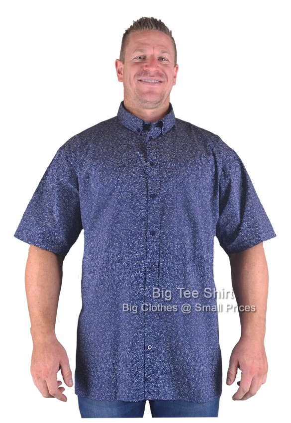 Navy Big Tee Shirt Tavere Shirt 2XL 3XL 4XL 5XL 6XL 7XL 8XL