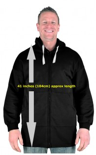 Big Mens Bottle Green BTS Extra Long Tall  V-Neck Sweatshirt Size M to 8xl