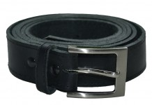 Black King York Trouser Belt (NOT BONDED)