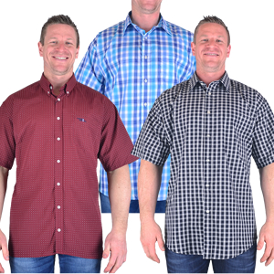 Patterned Short Sleeve Shirts